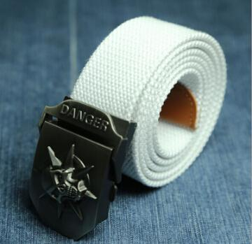 Skull Danger Belt