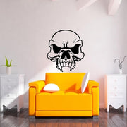 Fanged Skull Stickers