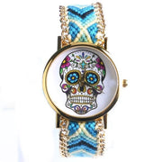Hand-Knit Sugar Skull Watches