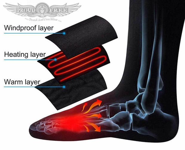 Heated Thermal Socks