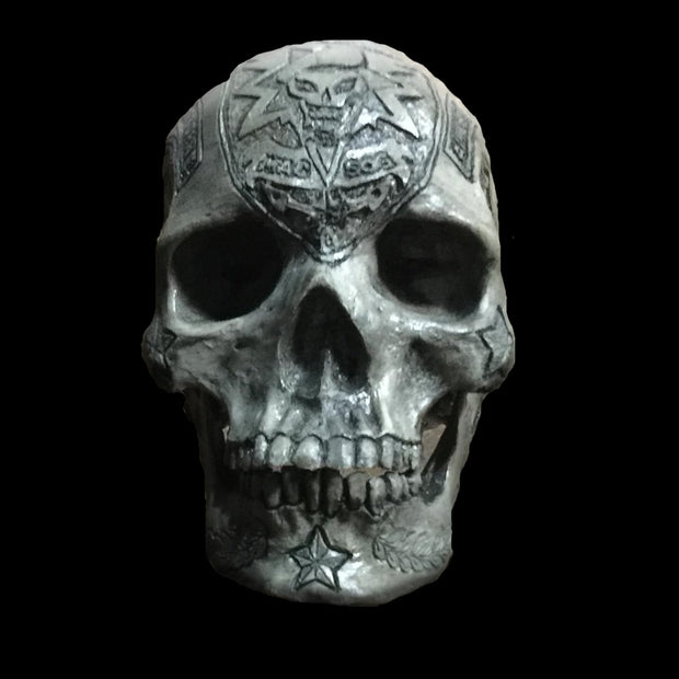 Special Forces Carved Skull