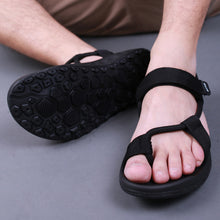 Men sandals 2017 Summer Men Black Beach Sandals high quality Unisex summer flat shoes sandalias para hombre Size 45 46