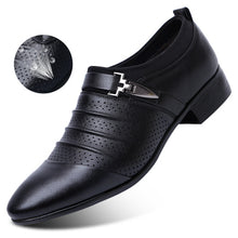 Hollow out oxfords formal shoes mens leather wedding shoes black heren schoenen oxford shoes for men dress shoes 2018 loafers
