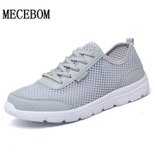 Men's Casual Shoes New Summer Mesh Breathable Comfortable Men Shoes lace-up footwears Plus Size 35-48 1607m