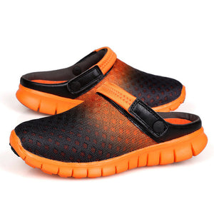 Merkmak Big Size 36-46 Men Summer Shoes Sandals 2018 Beach Flip Flops Mens Slippers Light Breathable Outdoor Boat Casual Shoes