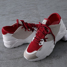 Summer Women Casual Shoes Breathable Sneakers Air Mesh Basket Trainers Women Canvas Shoes Creepers Flats White Chaussure Femme