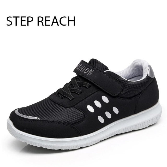 STEPREACH Brand shoes woman women flats Couples sneakers casual Breathable zapatos mujer tenis feminino chaussures femme lace-up