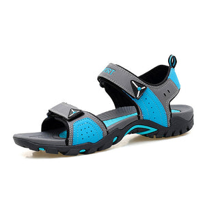 ZOGEER Big Size 35-46 Mens Beach Sandals, Summer Soft Men's Casual Shoes, 2018 New Breathable Walking Men Shoes