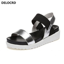 2018 Summer Sandals For Women New Shoes Peep-toe Sandalias Flat Shoes Roman Sandals Shoes Woman Mujer Ladies Flip Flops Footwear