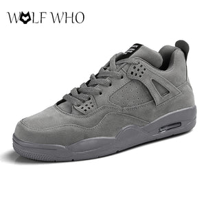 WolfWho Men Shoes Big Size Unisex Shoes Slipony Men Shoes Air Cushion Male Sneakers Zapatillas Hombre Femme Lightweight Loafers