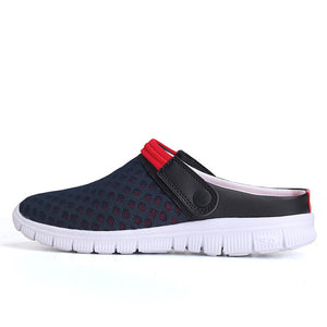 Men's Summer Shoes Slip-on Sandals Big Size 36-46 Breathable & Light Men Beach Shoes Casual Slippers 9 Colors