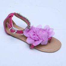 Lsewilly Gladiator Sandals for Women Bohemia Beaded Summer Flower Flat Heels Flip Flops Women's Shoes Tstraps Sandals 34-43 S004