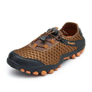 39-45 Casual Shoes Breathable Men Summer Shoes Comfortable Mesh Men Shoes Casual Anti skidding 2018