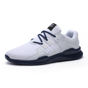 2018 Spring/Autumn Men Trainers Sneakers Casual Men Shoes Breathable Mesh Boy Shoes Fashion Flats Male Leisure Men Shoes