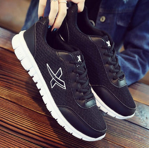 New Arrival Eva Lace-up Mesh (air Mesh) Free Shipping New Fashion Spring 2018 Shoes With Flat Platform/casual Men's size 36-44