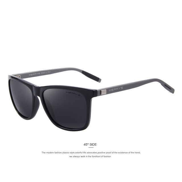 MERRY'S Unisex Polarized Aluminum Sunglasses