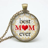 Classic Best Mom Ever Necklace