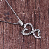 The Love Between a Mother and Son Charm Necklace