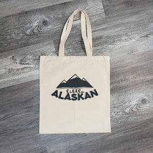 Little Alaskan Reusable Tote Bag