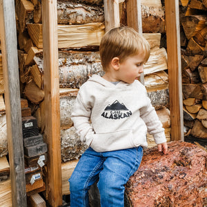 Toddler and Kid's Little Alaskan Hoodie | Oatmeal