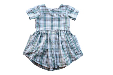 Size 2t | Short Sleeve Upcycled Dress by Briar&Boone