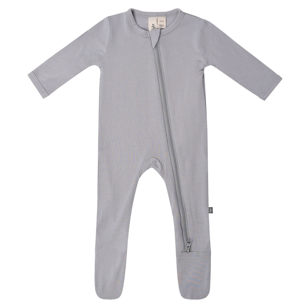 Zippered Footie by Kyte Baby | Storm