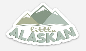 Little Alaskan Sticker