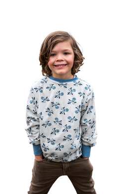 Boys Classic Crew Neck by Briar&Boone | Octopus