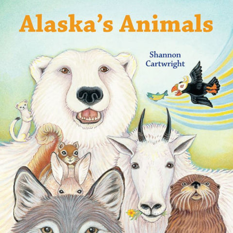 Alaska's Animals - Board Book