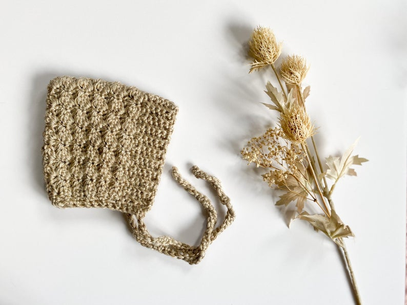 Bell Bonnet by Wee Fibre Co. | Beige