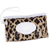 Take and Travel Reusable Wipe Pouch by Itzy Ritzy | Leopard