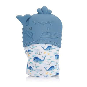 Whale Teething Mitt by Itzy Ritzy