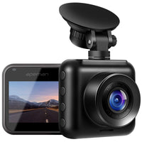 1.  Dash Cam 1080P Full HD Mini Car Driving Recorder 170° Wide Angle, Motion Detection, G-Sensor, Loop Recording, Night Vision