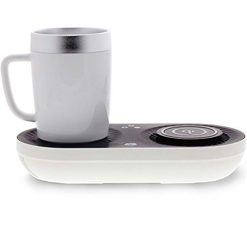 1.  3-in-1 Multipurpose Device - Mug Warmer & Cooler With Wireless Phone Charger (Qi-Certified)