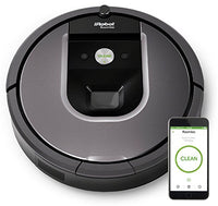 1.  iRobot Roomba 960 Robot Vacuum with Wi-Fi Connectivity, Works with Alexa, Ideal for Pet Hair, Carpets, Hard Floors