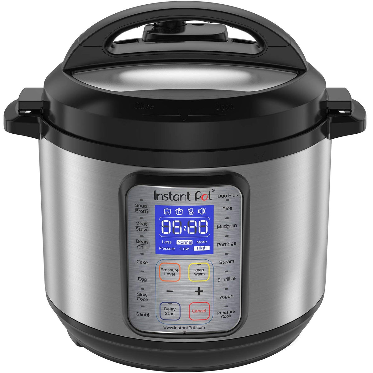 1.  Instant Pot DUO Plus 60, 6 Qt 9-in-1 Multi-Use Programmable Pressure Cooker