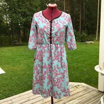 Granpa Tunic Dress strl 34-56 Pappersmönster