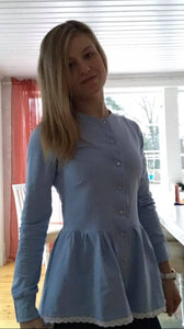 Preppy Woman Strl 34-56 PDF-mönster