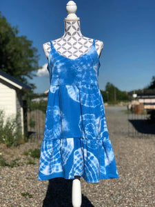 Riviera Rumble Dress Strl 34-56 PDF-mönster