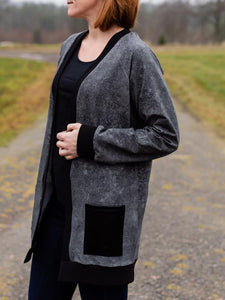 The BaumwULLE Cardigan Strl 34-56 Pappersmönster