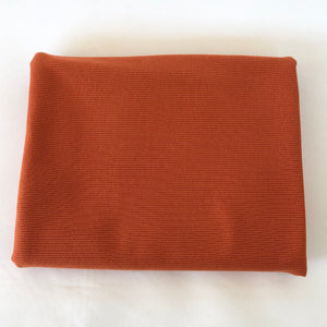 Ribbad Trikå Burnt Orange