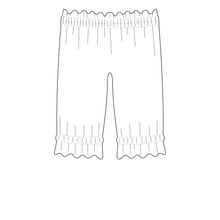 Ruffle Pants Strl 56-152 Pappersmönster