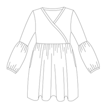 Sweet P Granpa Dress Strl 34-56 PDF-mönster
