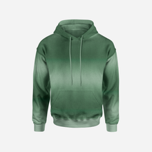 Ombre Army Green GOTS-Jogging, öglad