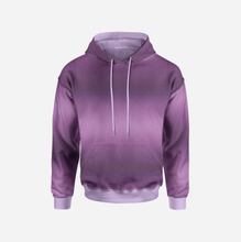 Ombre Purple GOTS-Jogging, öglad