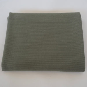 Ribbad Trikå Olive/Army Green