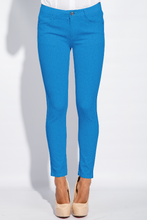 Denimlook Vibrant Blue GOTS-Jogging/French Terry