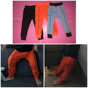Easy Peasy Pants Strl 56-140 Pappersmönster