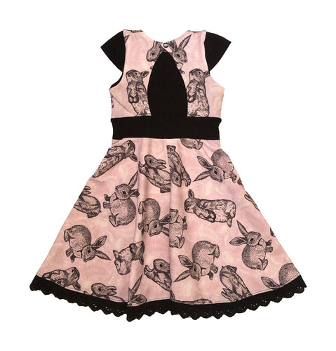 Blueberry Bell Dress Strl 80-164 PDF-mönster