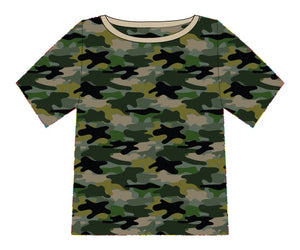Camo Green Sweatshirt/College